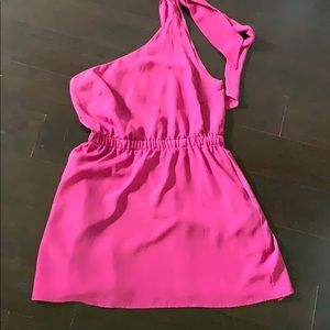 BarIII ONE SHOULDER DRESS szM